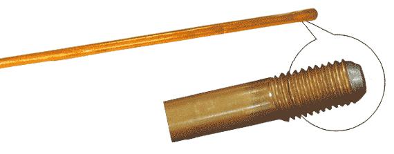 Омедненный резьбовой штырь l=1500, М16 заземления - представляет собой стальной стержень длиной 1...